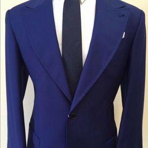 Other - Super 150 cobalt blue Cerruti wool suit.
